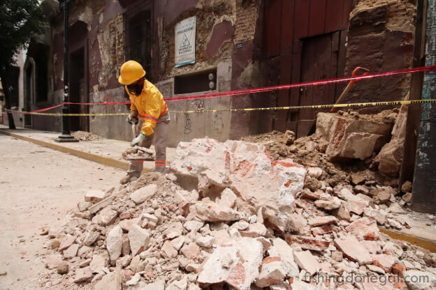 แผ่นดินไหว ครั้งใหญ่ทางตอนใต้ของเม็กซิโก