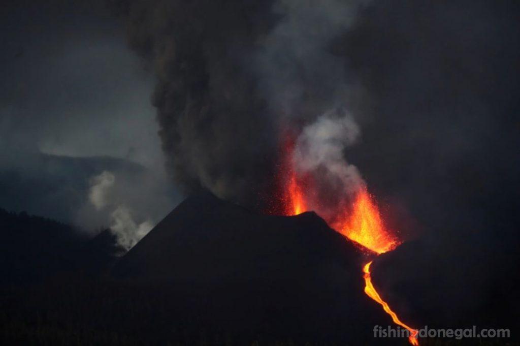 La Cumbre Vieja ภูเขาไฟปะทุ