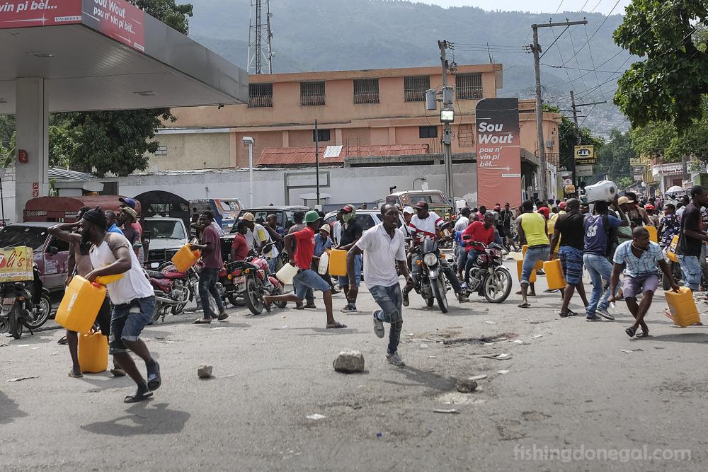Beleaguered Haiti ขาดแคลนเชื้อเพลิง